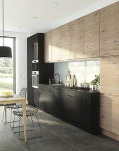 cocinas de madera modernas en tonos oscuros (6)