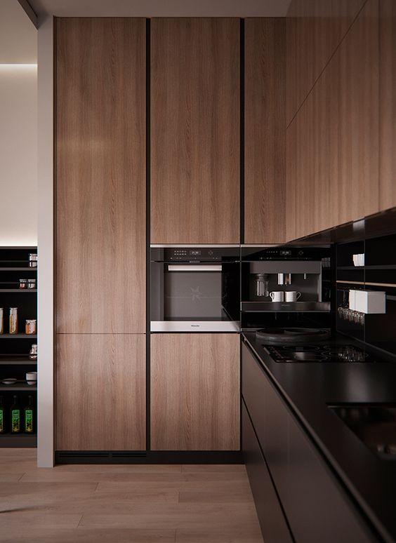 Cocinas de madera modernas dise os de cocinas 2019 for Cocinas integrales modernas de madera
