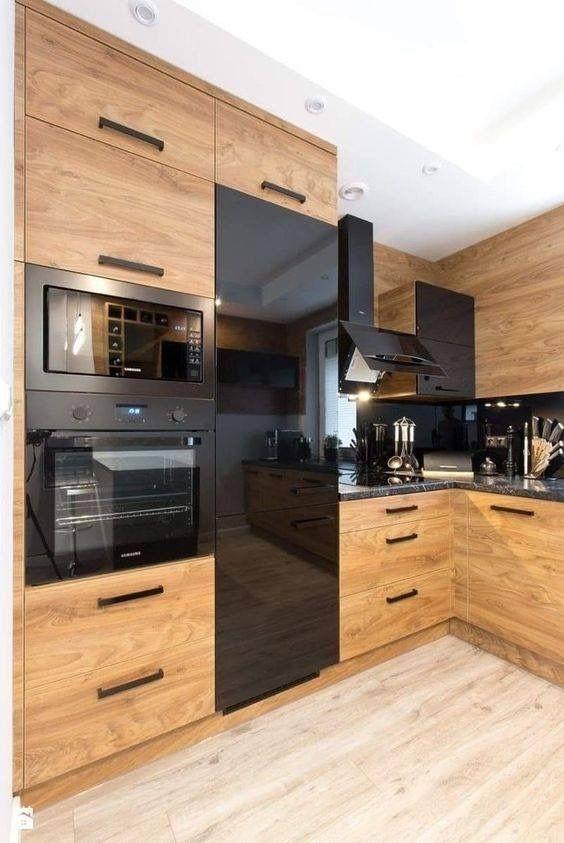 Cocinas de madera modernas dise os de cocinas 2019 for Cocinas de madera pequenas