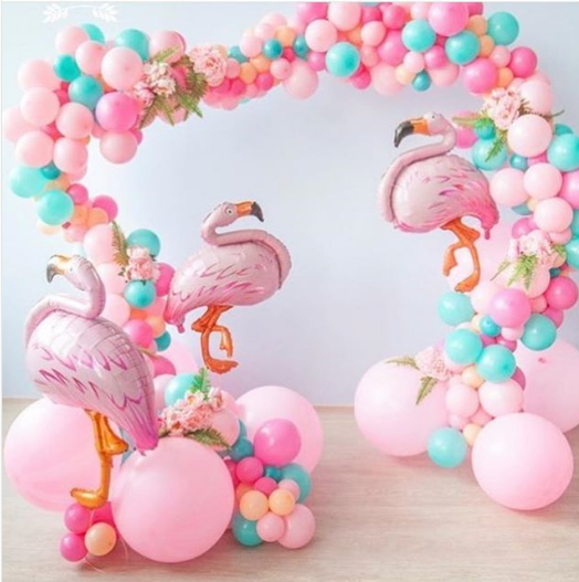 Decoracion de fiestas de flamingos