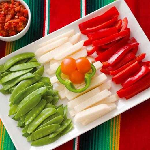 Decoracion en colores mexicanos