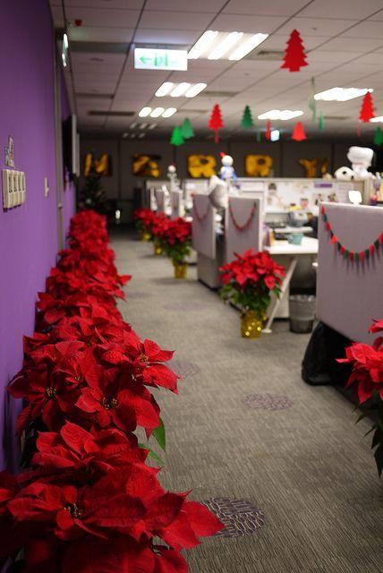 De 280 fotos decoracion de navidad 2019 tendencias e ideas - Decoracion de navidad para oficina ...