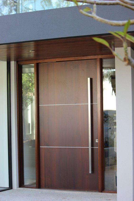 Diseños de puertas principales 2018