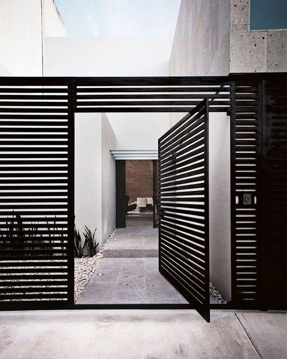Diseños de puertas principales de herreria