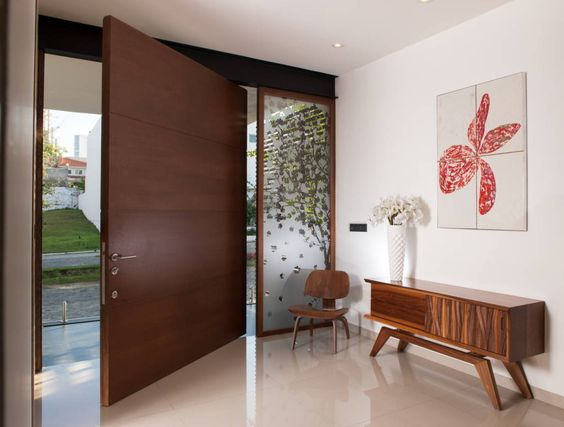 Diseños de puertas principales de madera