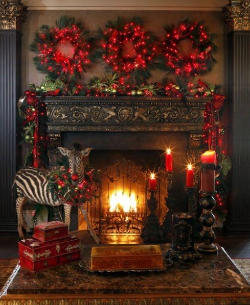 guirnaldas y luces de navidad