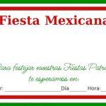 Invitaciones para fiestas patrias