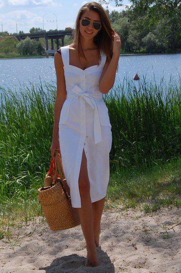 vestidos camiseros cortos