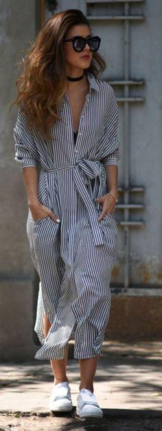 vestidos camiseros largos