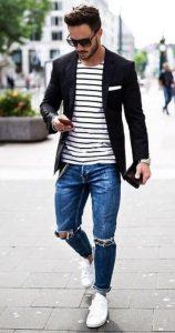 zapatillas para usar con jeans hombre