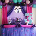 Decoracion de vampirina para cumpleaños