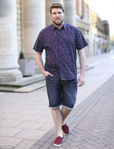 Looks casuales para hombres plus size