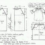 moldes y patrones de vestidos para niñas modernos