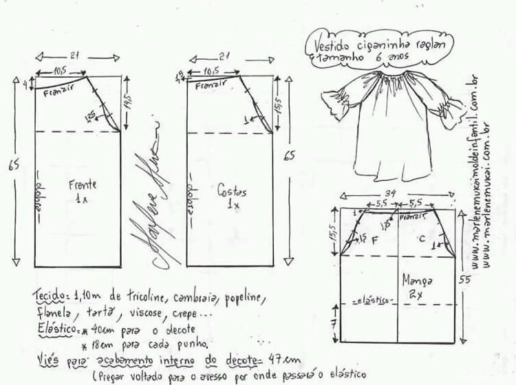 Patrones De Vestidos De Moda Para Niñas Ideas Para Cada Edad