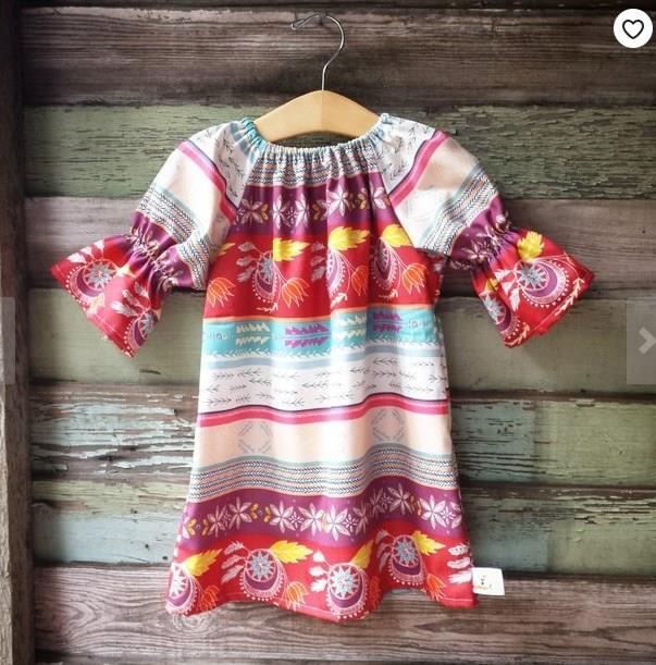 55a88a132 Moldes y patrones de vestidos para niñas modernos