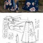 patrones de maxi vestidos con shorts (2)