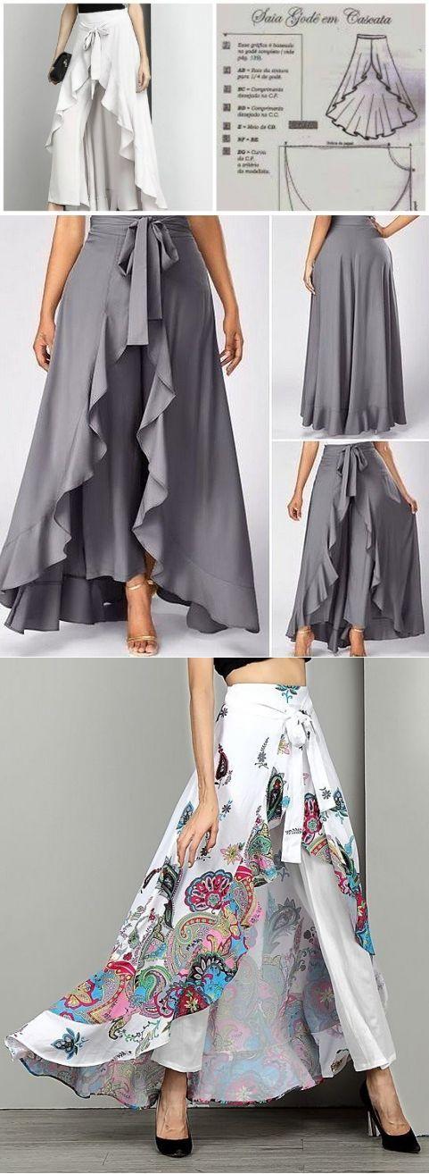 bf3591e63 Patrones de maxi vestidos con shorts
