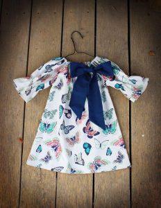 Patrones de vestidos de niña gratis para imprimir 10 años