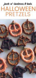 Pretzels de halloween