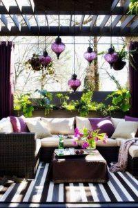 combinaciones de colores para patios