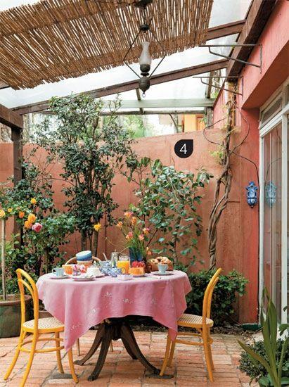 colores de pintura para patios y jardines