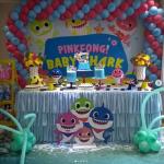 ecoracion para fiesta de baby shark