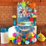 fiesta de cumpleaños de baby shark