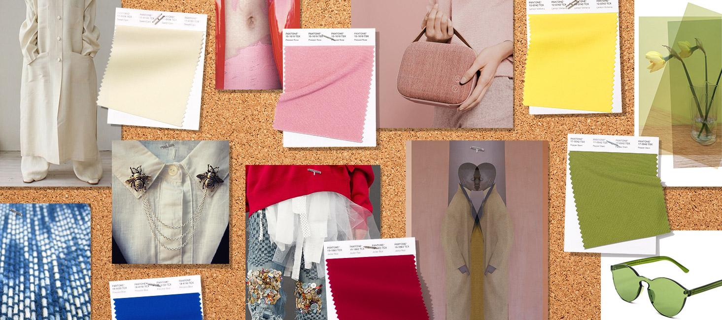 colores de moda para el Fashion Week spring summer primavera verano 2019