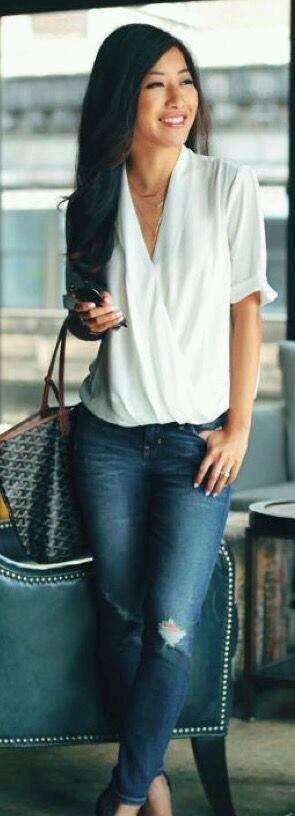 blusas cruzadas para el verano 2019