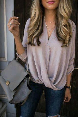 blusas cruzadas para el verano