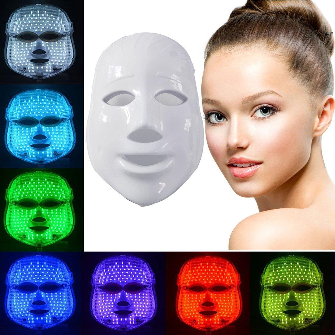 Marcas de Mascara facial con luces led