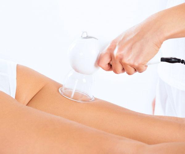 Masajes para moldear el cuerpo con vacumterapia