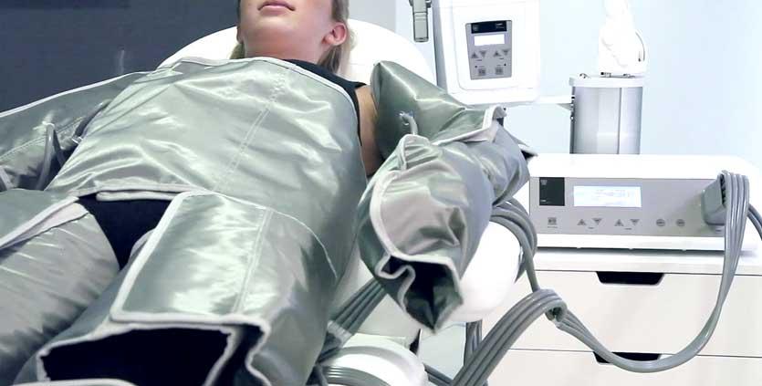 aparato para bajar la panza con presoterapia