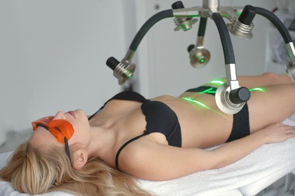 contorno del cuerpo con laser