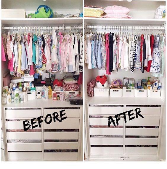 curso online para organizar un closet infantil