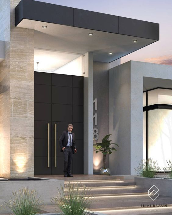 diseños de recibidores de casas elegantes