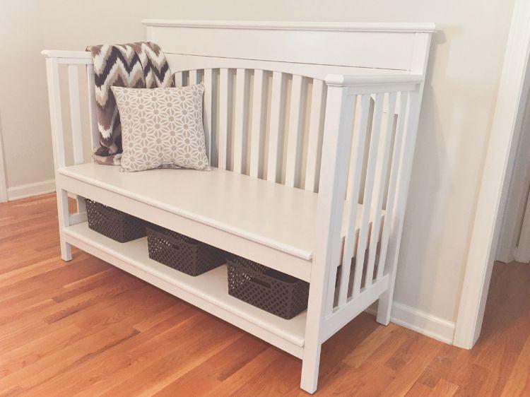 Ideas para reutilizar la cuna de tu bebé