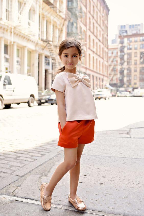 Como vestir a un niña de moda para el dia del niño