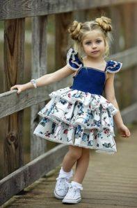 Moda para niñas con tenis