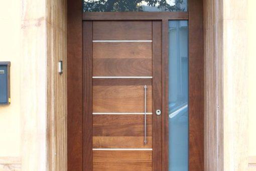 Puertas de madera en diferentes estilos