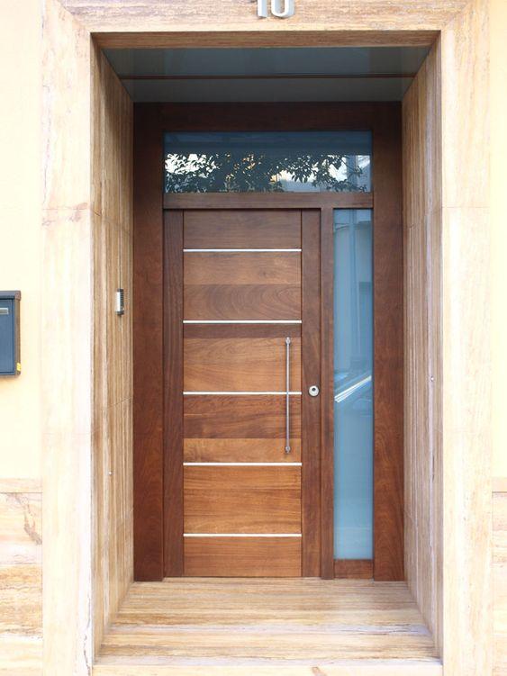Diseno De Puertas De Madera Para Entrada Principal Como Organizar