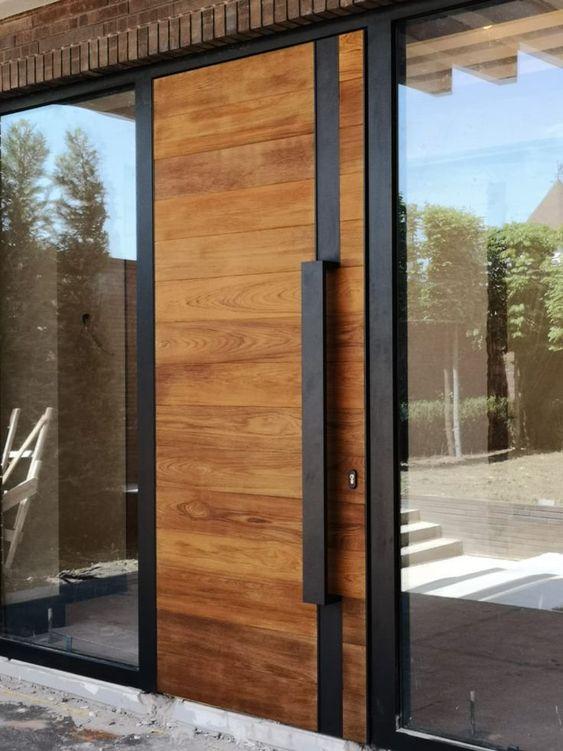Puertas de madera en diferentes estilos 2019