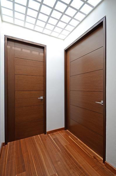 Puertas de madera para recamaras