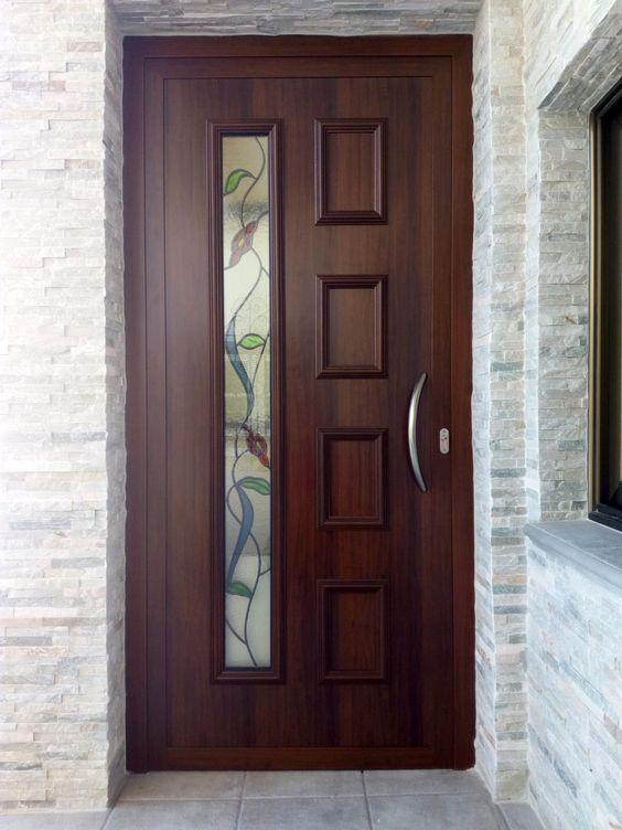 Puertas de madera principales