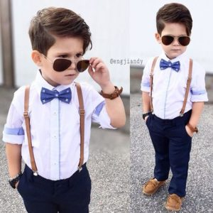 Ropa elegante para niños varones