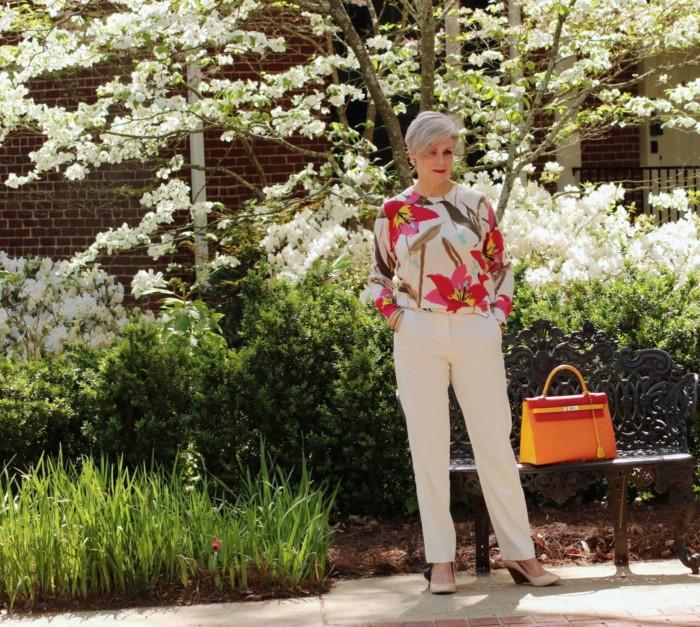 Ropa informal para mujeres de 65 años