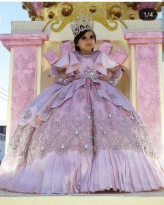 Vestidos de reinas para niñas
