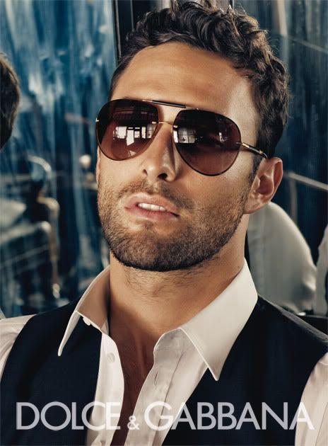 gafas de sol para el look de los hombres