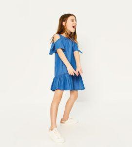 moda con tenis para niñas