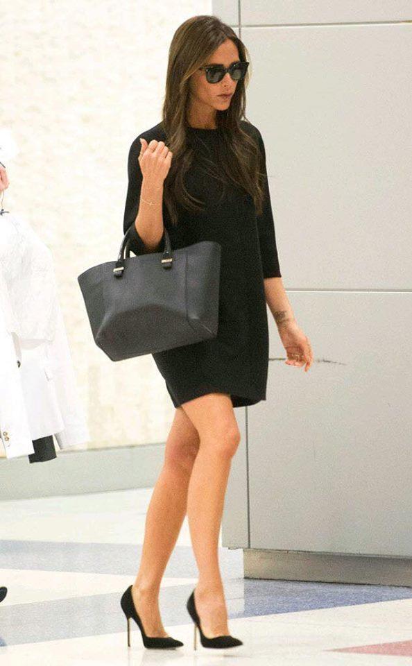 outfits color negro para mujeres de 40